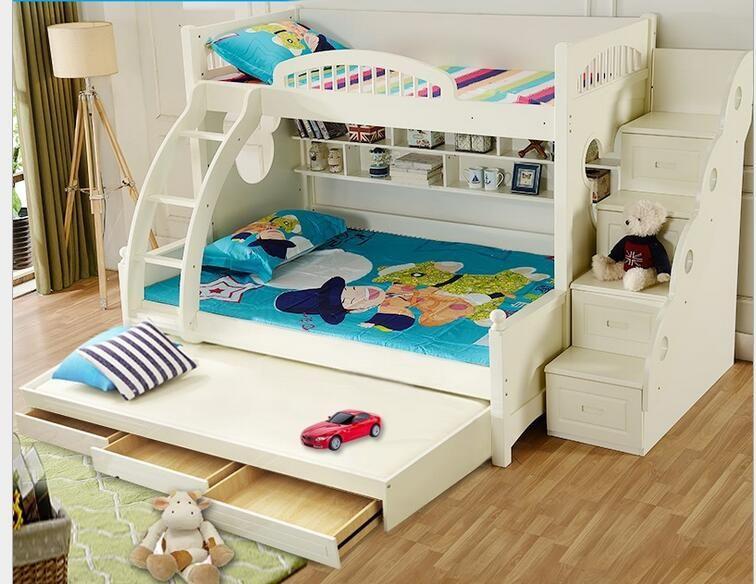 pas cher 1500 1900 lit b b enfants lit superpos enfants chambre meubles multifonctionnel. Black Bedroom Furniture Sets. Home Design Ideas