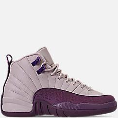 Girls  Big Kids  Air Jordan Retro 12 Basketball Shoes  75fbf4a04