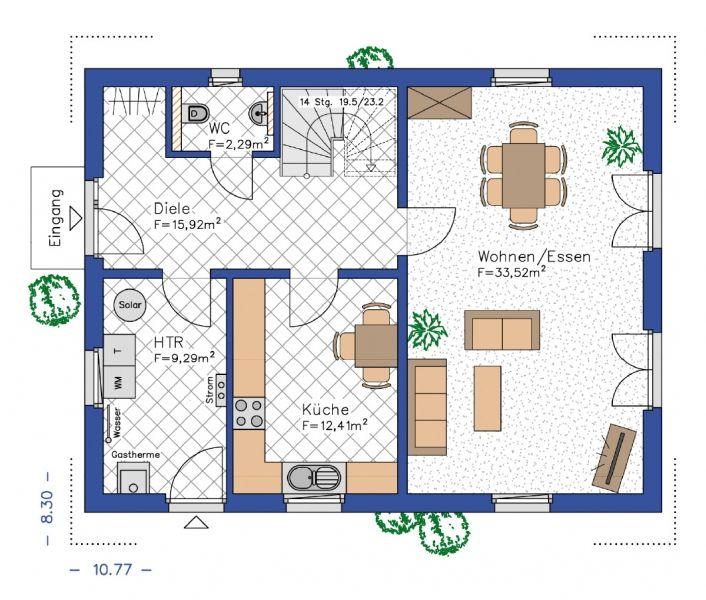 Grundrisse für das eigene Haus erstellen Grundriss, Haus