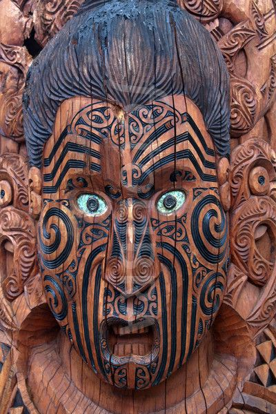 Maori wood mask piel shoppiel inspiration masks