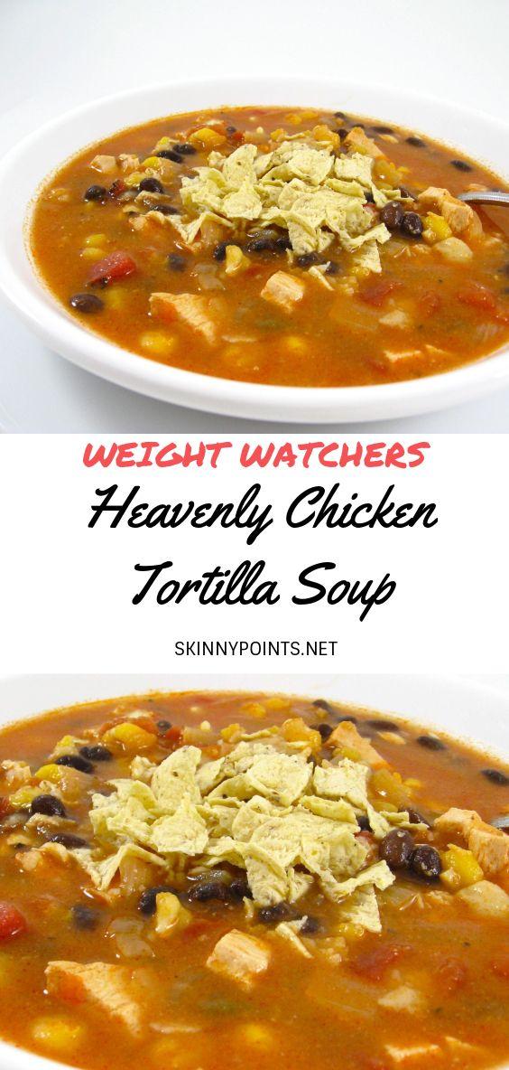 Weight Watchers Chicken Tortilla Soup Recipe