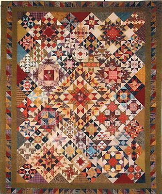 Patchwork Sampler Quilt Pattern By Lori Smith Quilts Sampler Quilt Quilting Designs