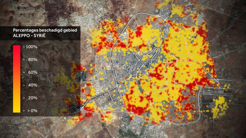 Reconstructie strijd Oost-Aleppo: oorlogsmisdaden gepleegd | NOS