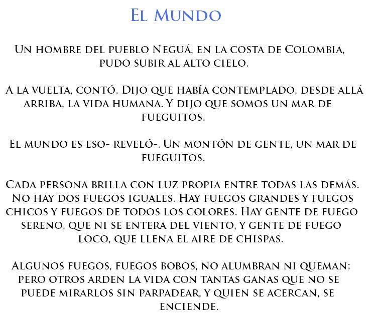 22 Cuentos Cortos De Eduardo Galeano Cuentos Cortitos Cuentos Frases Bonitas