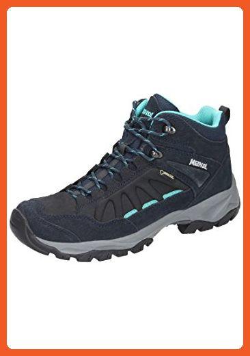 Meindl - Zapatillas para correr en montaña de material sintético para mujer azul azul 7 ay14B46L