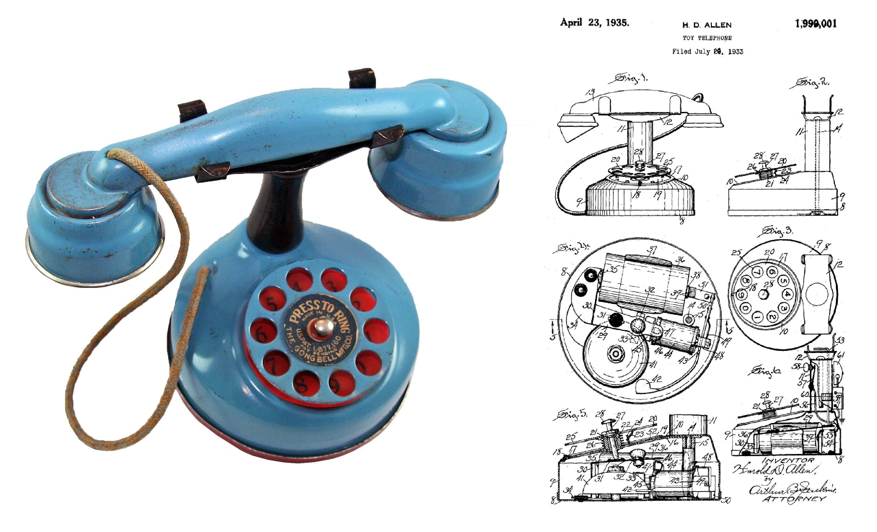 how to use a dial phone
