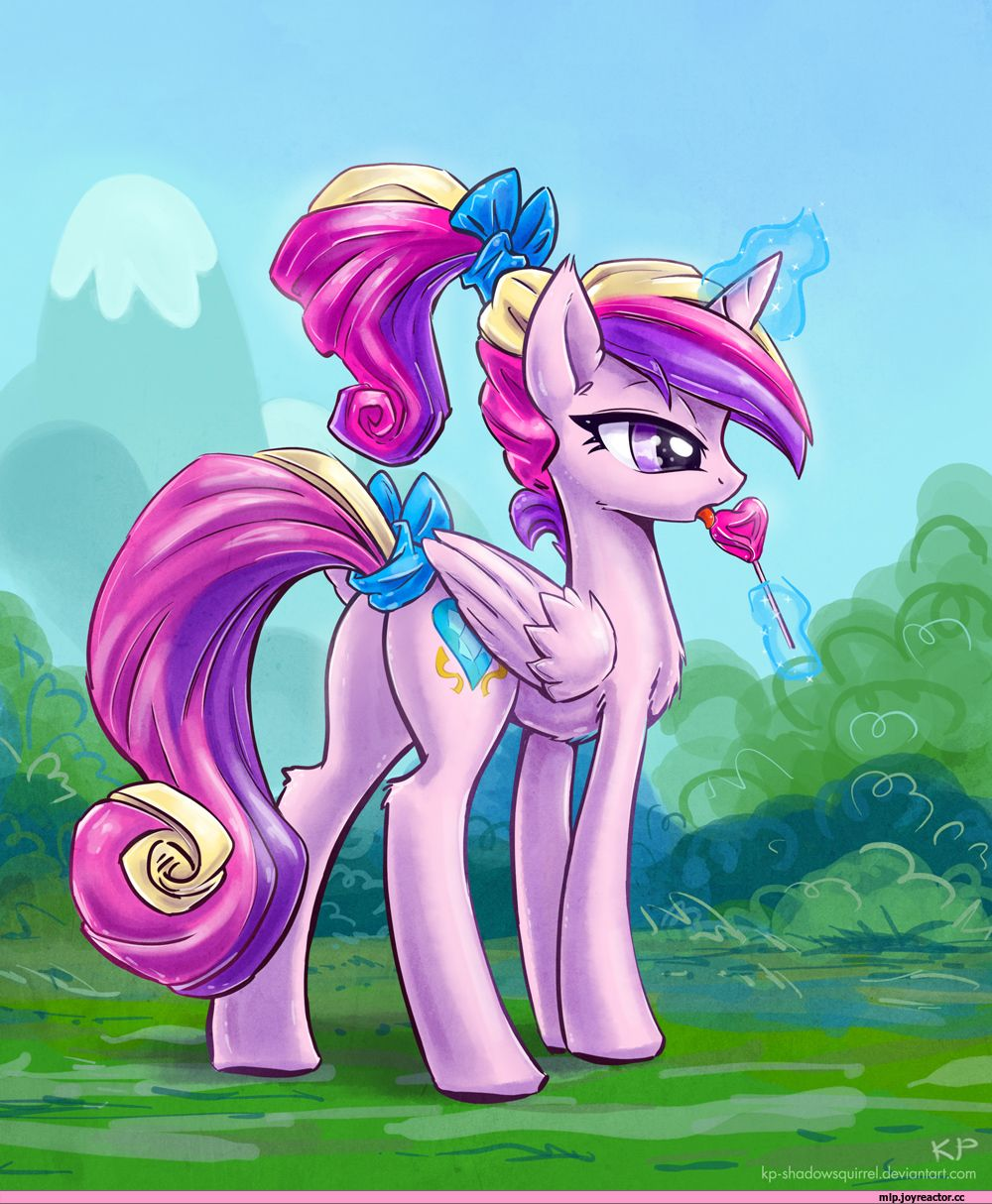 My little pony mlp art royal princess cadence - Princesse poney ...