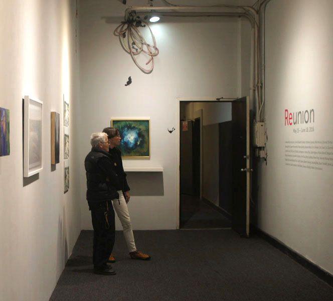 Reunion Group Exhibition Andlab, Los Angeles, CA