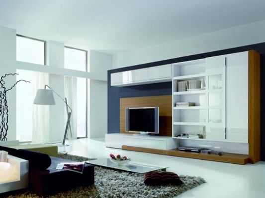 Wall unit - too much white.