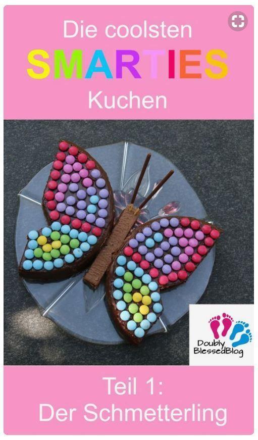 Die coolsten Geburtstagskuchen: Der Schmetterling #geburtstagskuchenkinder
