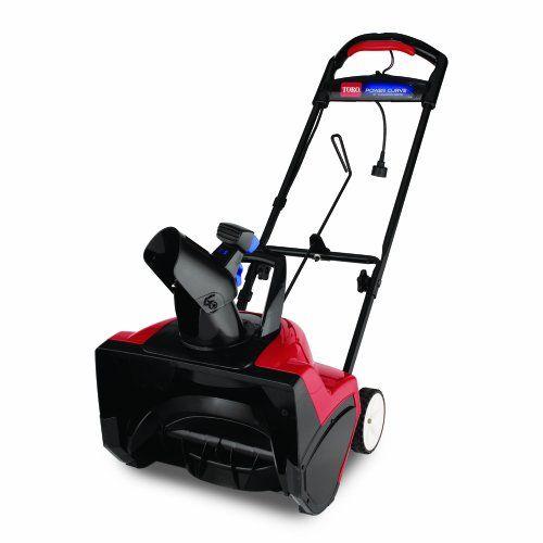 Toro 38381 Electric 1800 Curve Snow Blower Electric Snow Blower Snow Lawn Garden