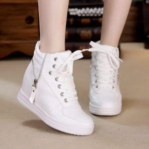 Sepatu Boot Wedges Zr014 Sepatu Boots Sepatu Kets