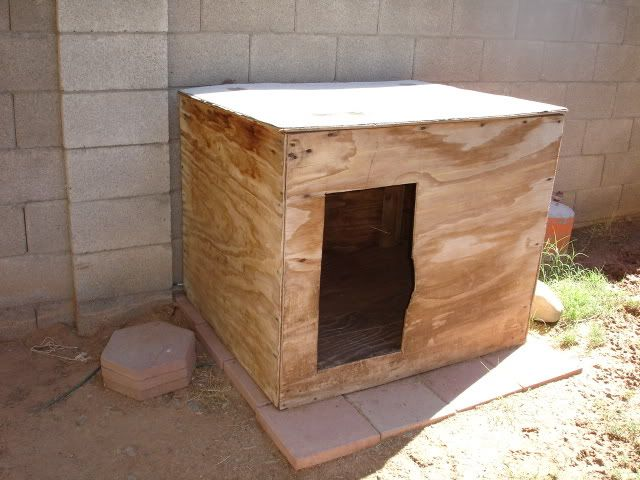 DIY dog house instructions... once you have the base, paint and ...