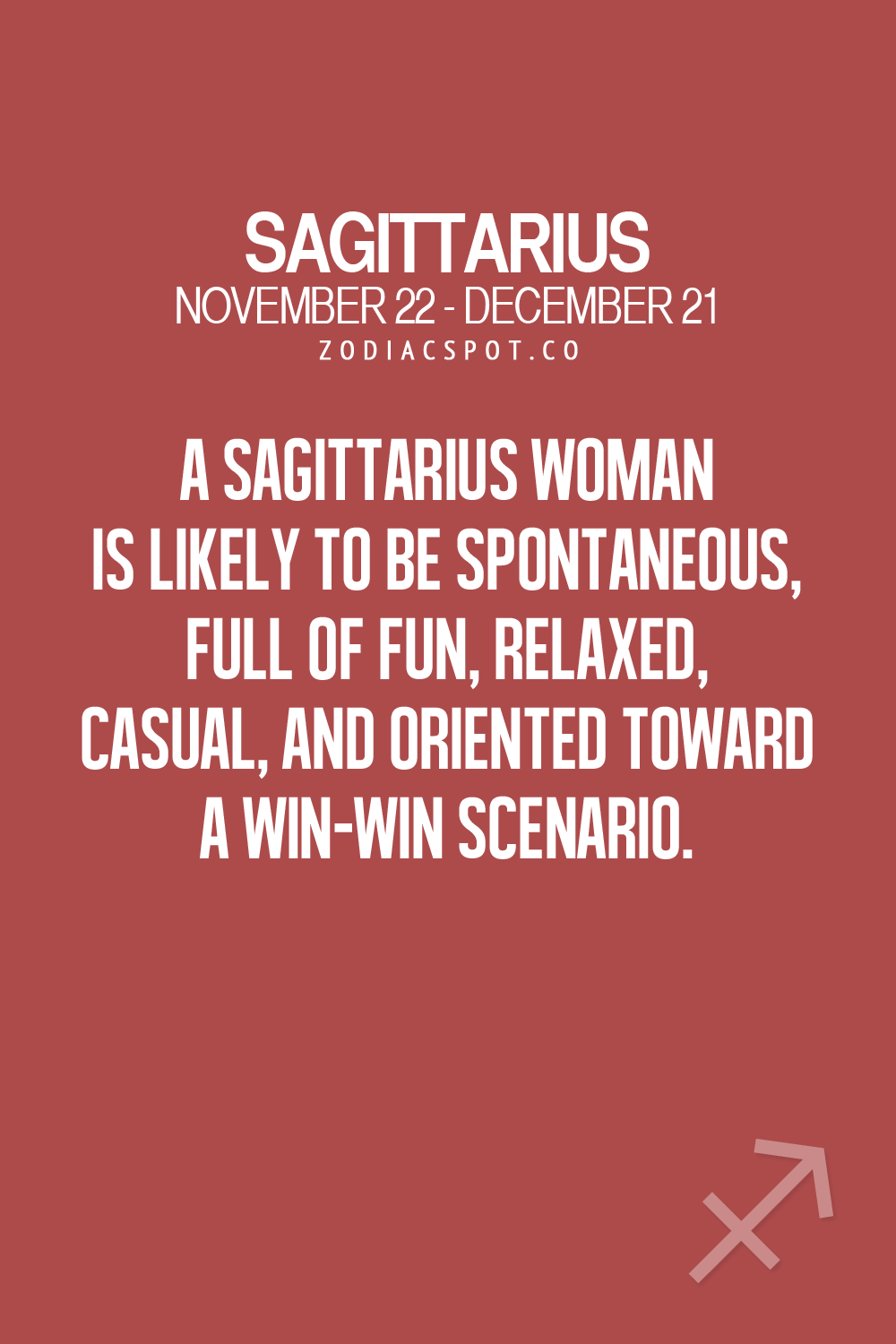 Spontaneous Love Quotes Sagittarius Woman Is Likely To Be Spontaneous Full Of Fun