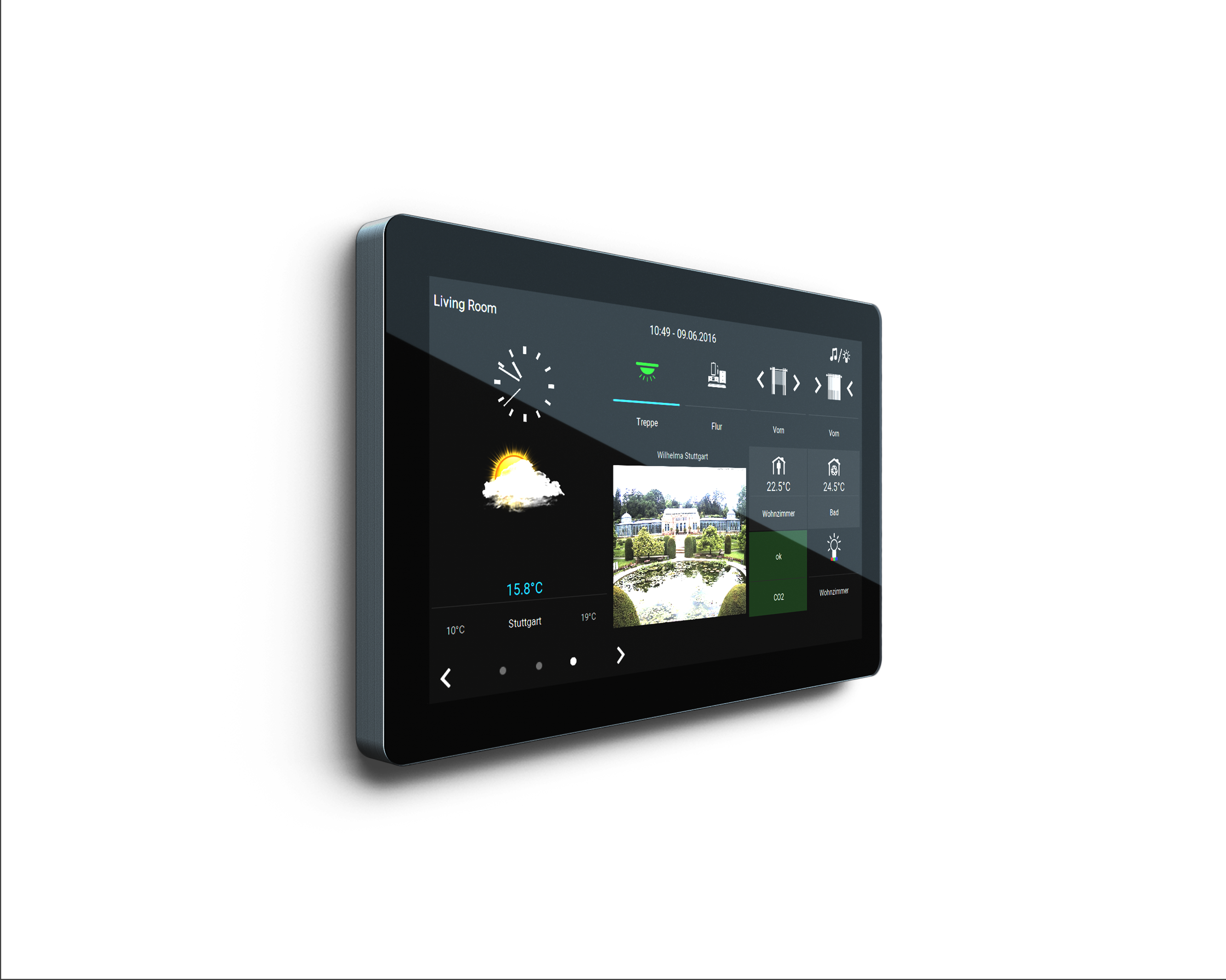 trivum TouchPad 10 for Smart Home Control   Projekte ...