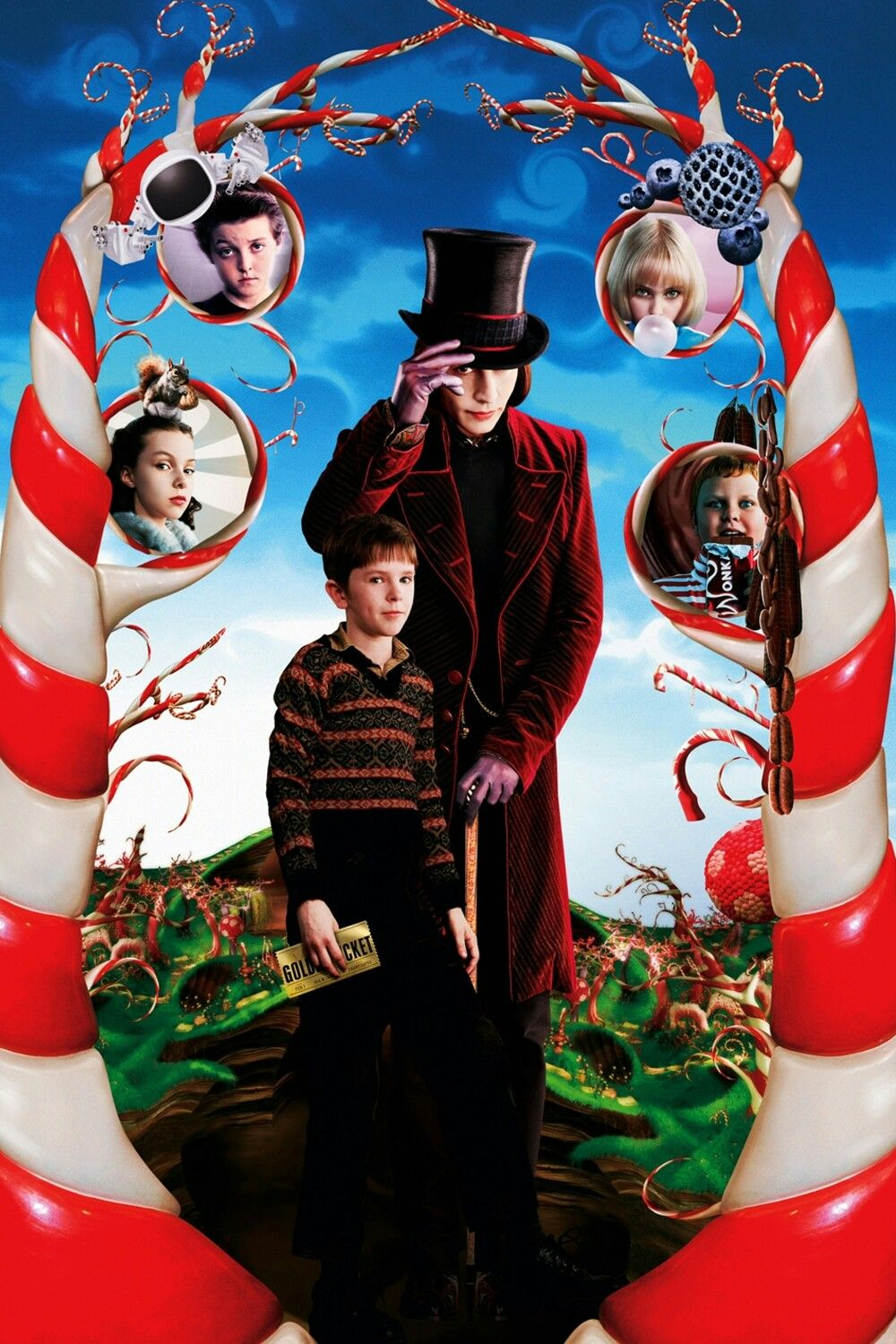 Charlie And The Chocolate Factory Textless Movie Poster Textless