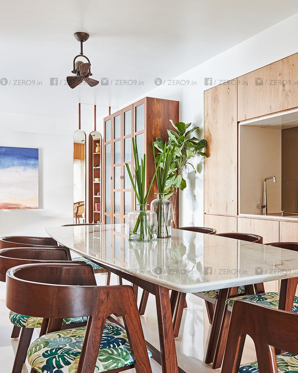 indian dining room modern decor