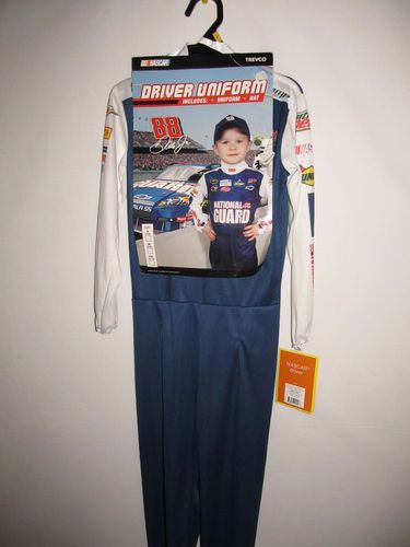 NASCAR Driver Uniform Halloween Costume 88 Dale Earnhardt Jr s 4 6 New Jumpsuit | eBay  sc 1 st  Pinterest & NASCAR Driver Uniform Halloween Costume 88 Dale Earnhardt Jr s 4 6 ...
