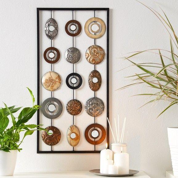 Trendige Wanddeko im Ethno-Look - ein toller Blickfang für Ihr - wanddeko