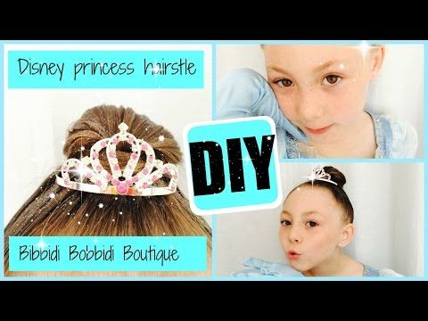 Diy Disney Princess Hairstyle Bibbidi Bobbidi Boutique Bibbidi Bobbidi Boutique Bibbidi Bobbidi Boutique Hairstyles Disney Princess Hairstyles