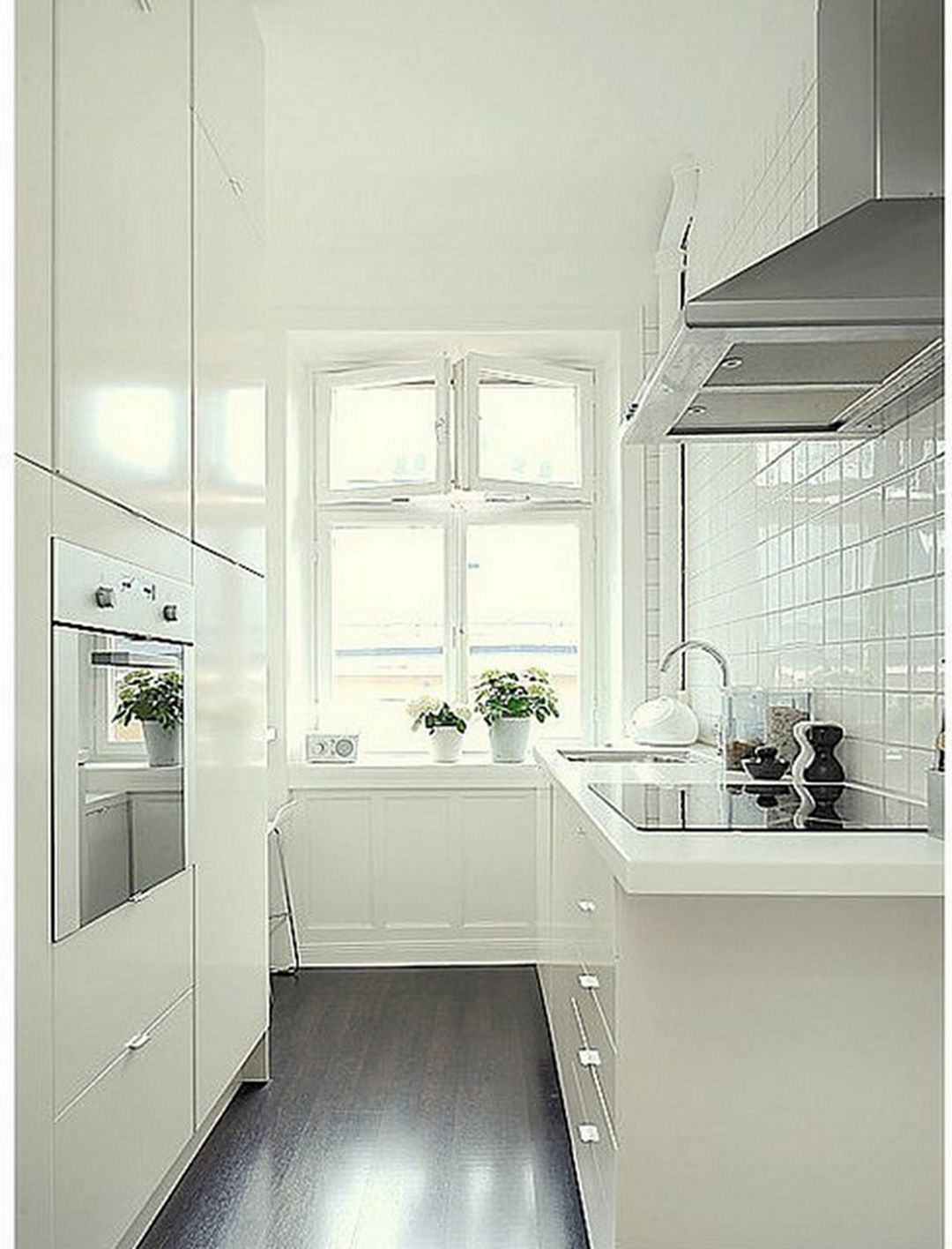 Small Spaces Big Solutions A Modern Haven In 2020 Tiny House Kitchen Small Remodel Kitchen Remodel Small