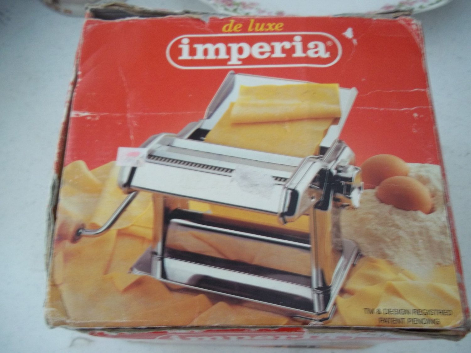 Imperia SP150 De Luxe Pasta Maker Machine Cutter Angel Hair Italy EXCELLENT by APassion4Antiques on Etsy