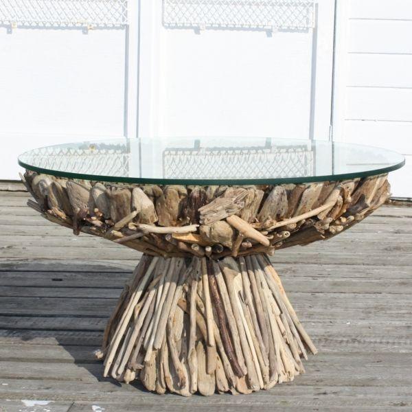 AuBergewohnlich 60 Treibholz Tisch Modelle Und Hinreißende Objekte Aus Der Natur