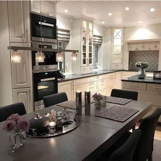 ♕pinterest amymckeown5 Dreamhouse Pinterest Cocinas - cocinas elegantes