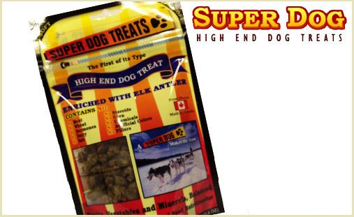 Super Dog treats are a high-end holistic alternative to processed treats. Spoil your pup with the finest natural ingredients, formulated specifically to benefit poor coats, allergies, and sensitive tummies. These vet-approved treats are corn, wheat, and dairy-free and contain no hormones, artificial colors, or by-products, so you can feed your pet the highest quality treats with no worries!