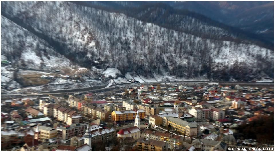 my hometown in the heart of the mountains