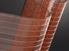 Focus On Copper And Corten Design Archiproducts Sheet Metal Expanded Metal Metal