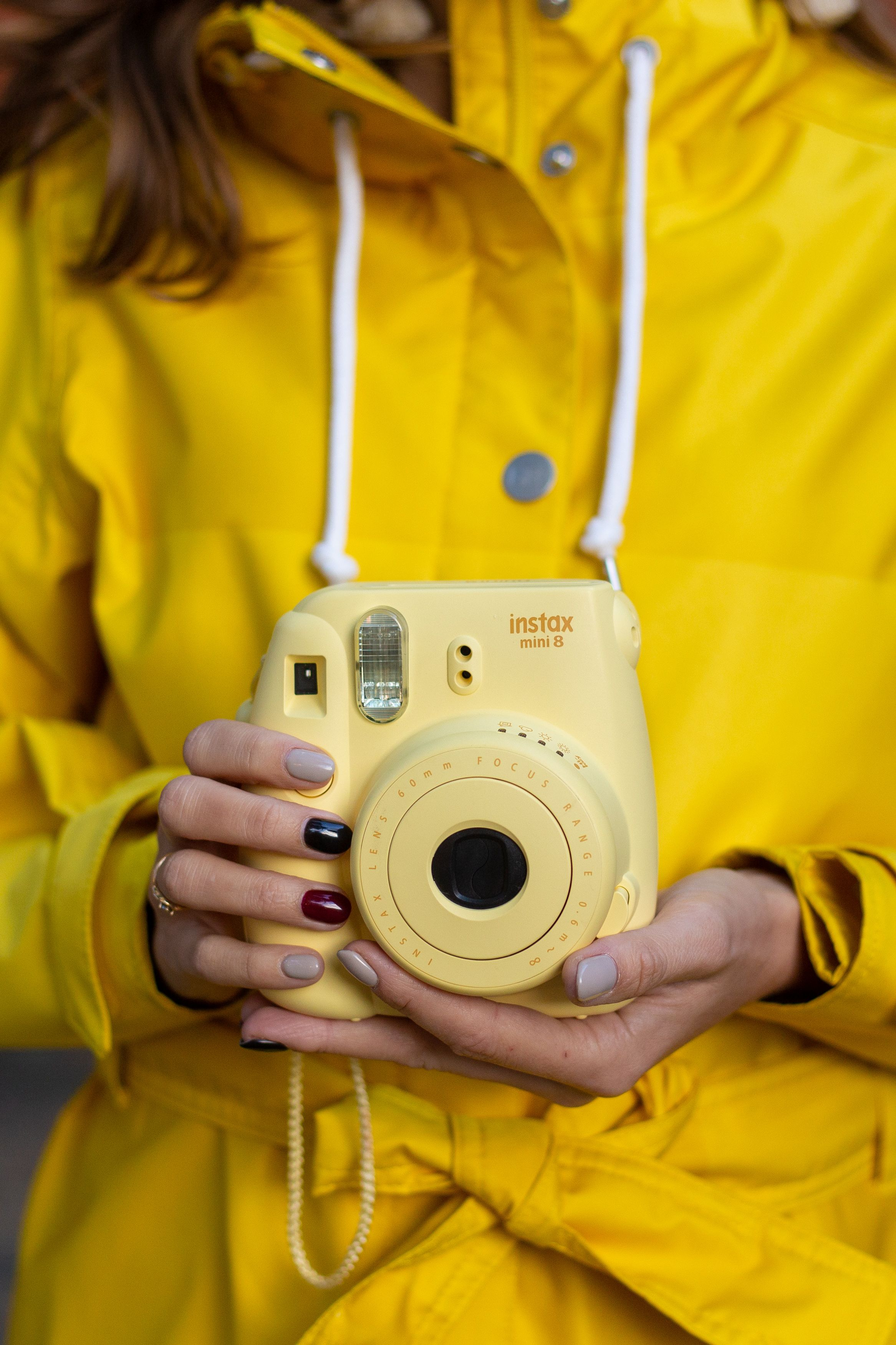 Yellow Instax Mini Camera For Snaping All Your Best Moments