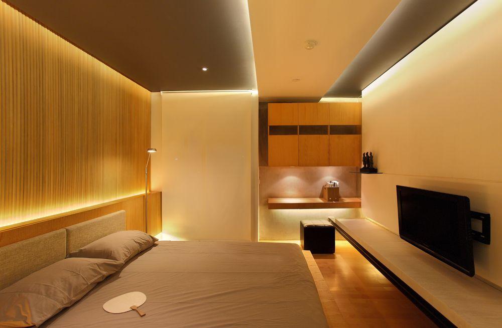 contemporary bedroom for small apartment interior design ideas ...