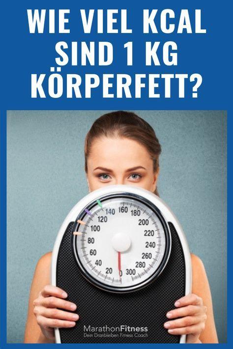 Wie viel kcal sind 1 kg Körperfett? - Die Wissenschaft vom