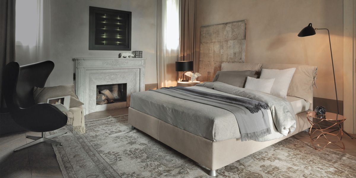 NATHALIE http://www.flou.it/it/collections/mood2015/nathalie #bed ...