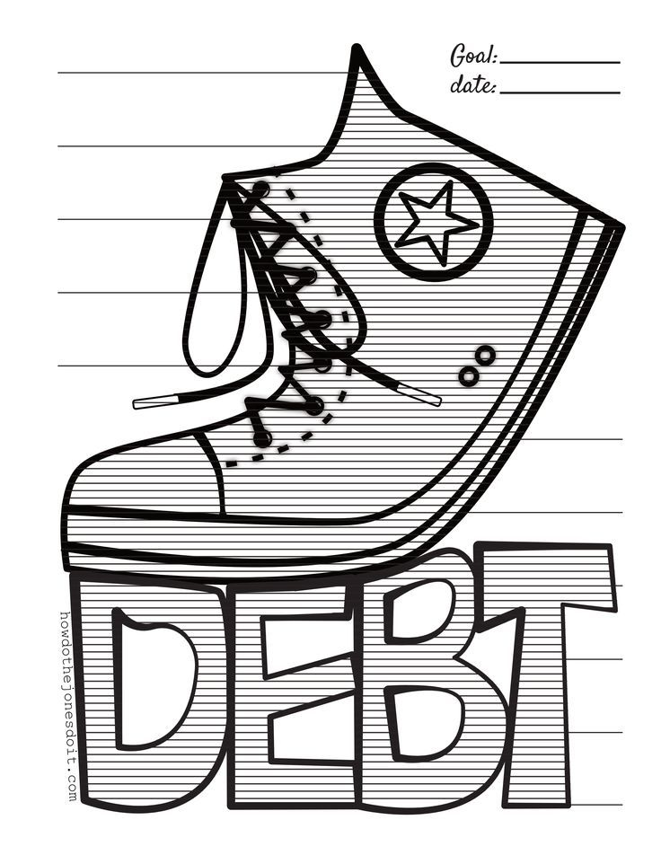 Debt Free Chart (With images) Debt free, Free chart