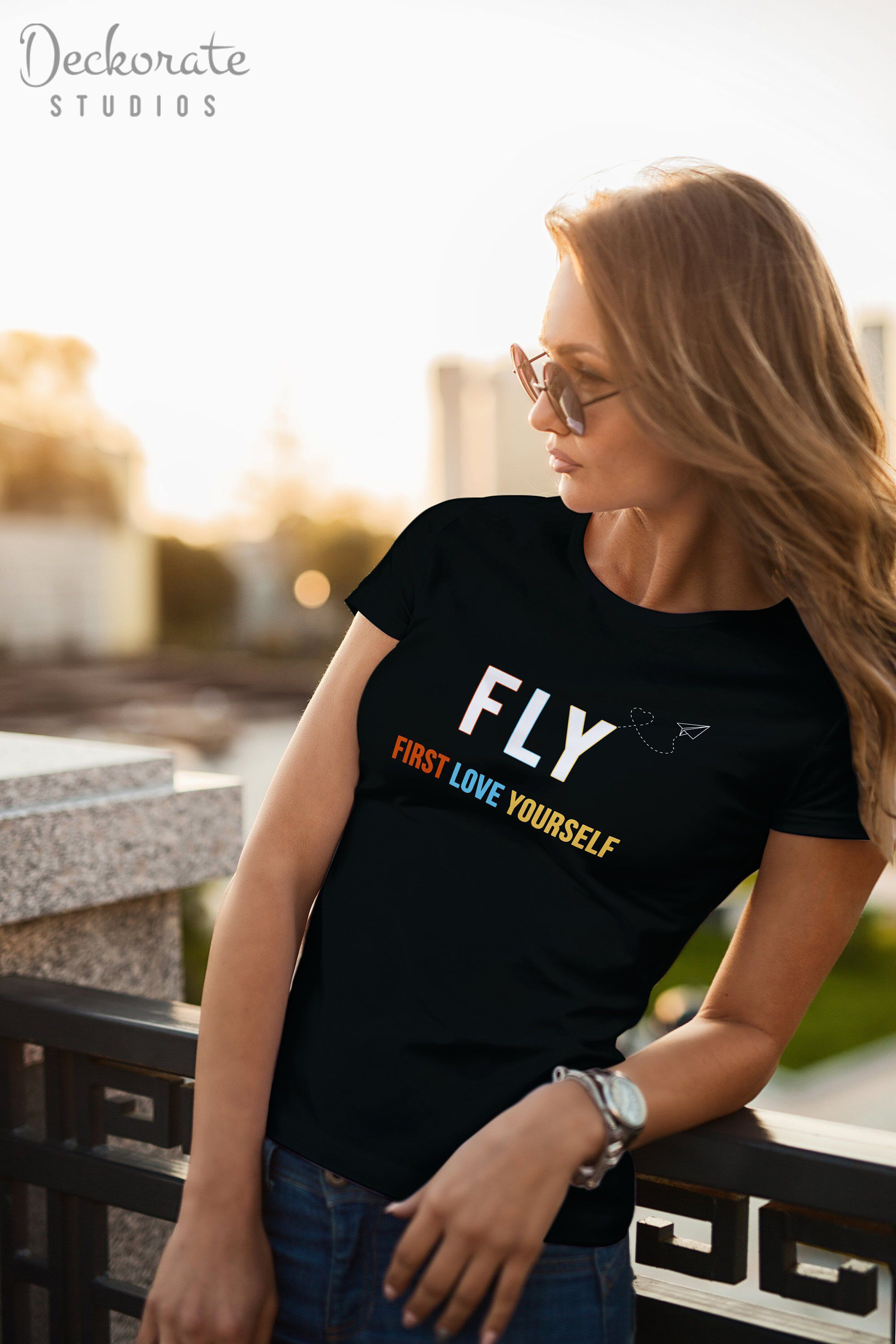 0616a8f0de2c8 Excited to share the latest addition to my  etsy shop  Motivational t shirt  FLY First Love Yourself feminist solo travel loving strong womens recovery  gift ...