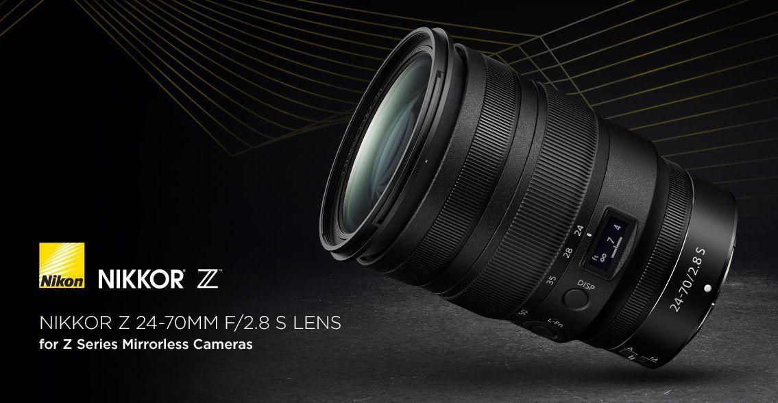 Nikon Nikkor Z 24 70mm F 2 8 S Lens Now In Stock Nikon Rumors Nikon Camera Nikon Lens