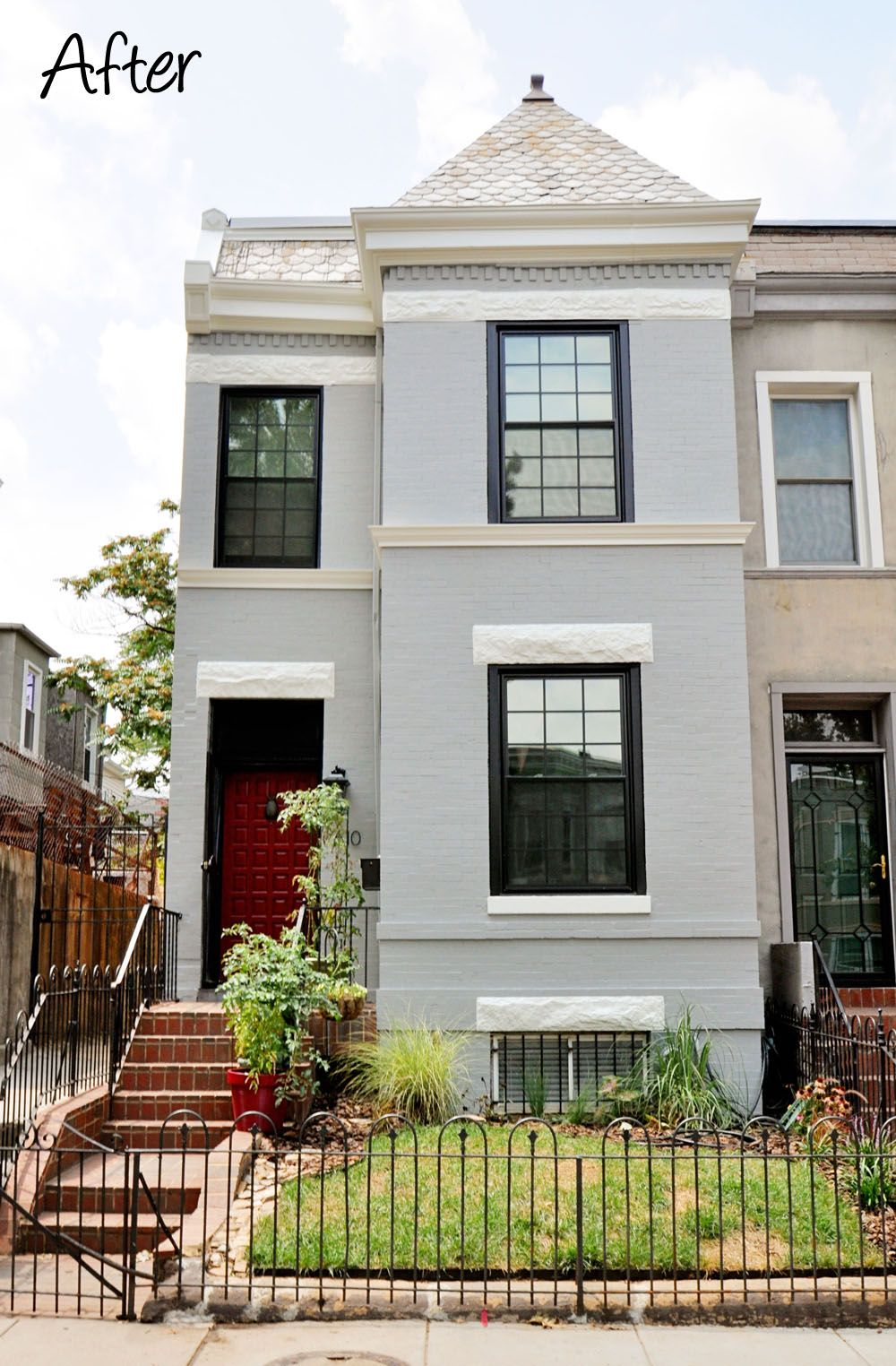 Amazing Row House Renovation Almost Unrecognizable From