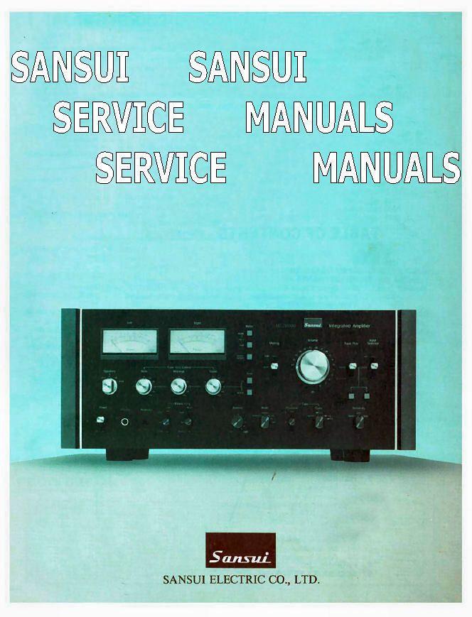 sansui instruction service manuals repair manuals audio hifi vintage rh pinterest com Honda Repair Guide Online Repair Guide