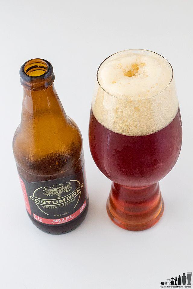 Red X Ipa La Red Ipa Con Jengibre De Costumbres Cerveza Ipa