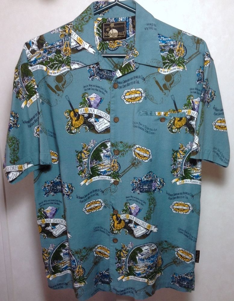 dc819f4d Jimmy Buffett Margaritaville Hawaiian Camp BBQ Shirt Quietly Making Noise # Margaritaville #Hawaiian
