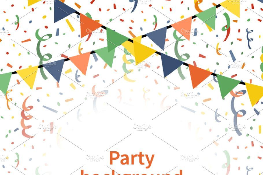 Party A4 Size Vertical Background Party Background Background Decoration Festive Flags A4 size hd background design
