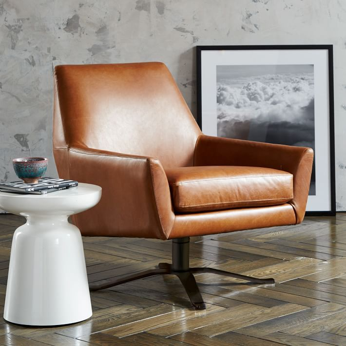 leather swivel chair living room. Lucas Leather Swivel Base Chair 160  Lounge ChairsLiving Room Living rooms and