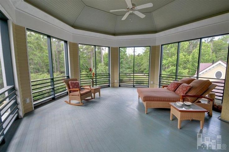 Screened Porch Floors Second Floor Screened Porch Real Estate Porch Flooring Screened In Porch Best Flooring