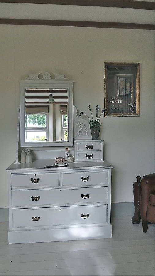 Edwardian Dressing Table With Drawers