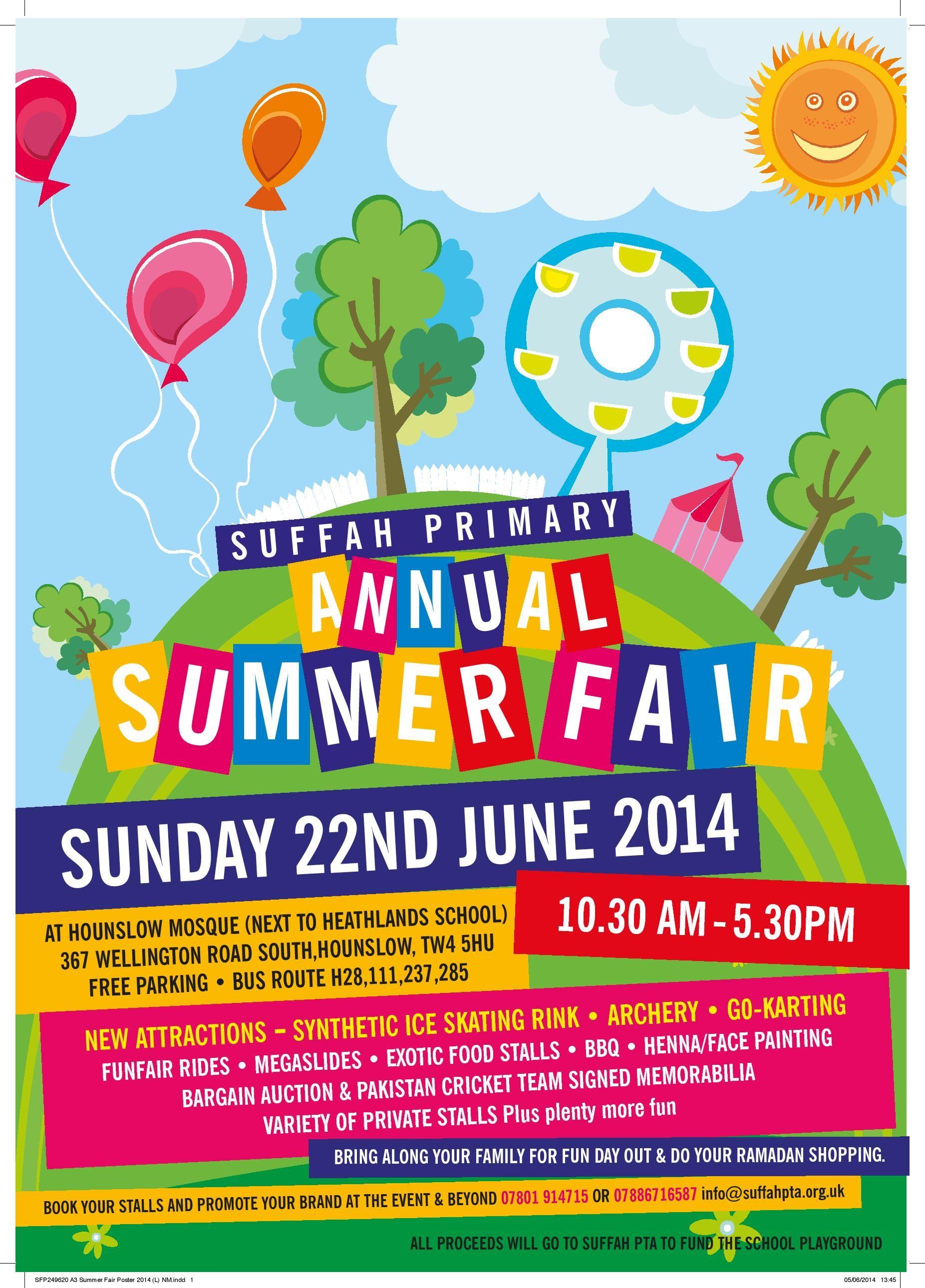 summer fair posters