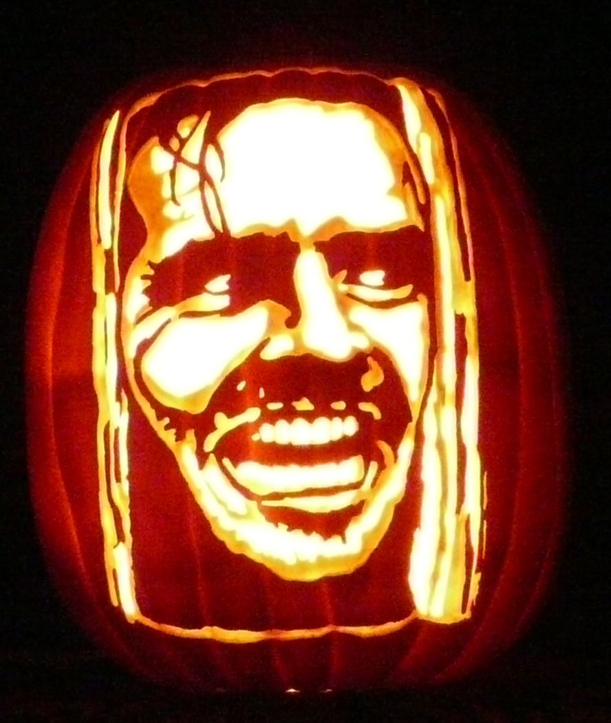my son asked me if i have ever carved jack torrance on a foam rh pinterest com