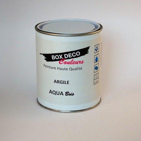 Aqua bois peinture pour bois interieur ou exterieur idéal pour - peinture pour relooker meuble en bois