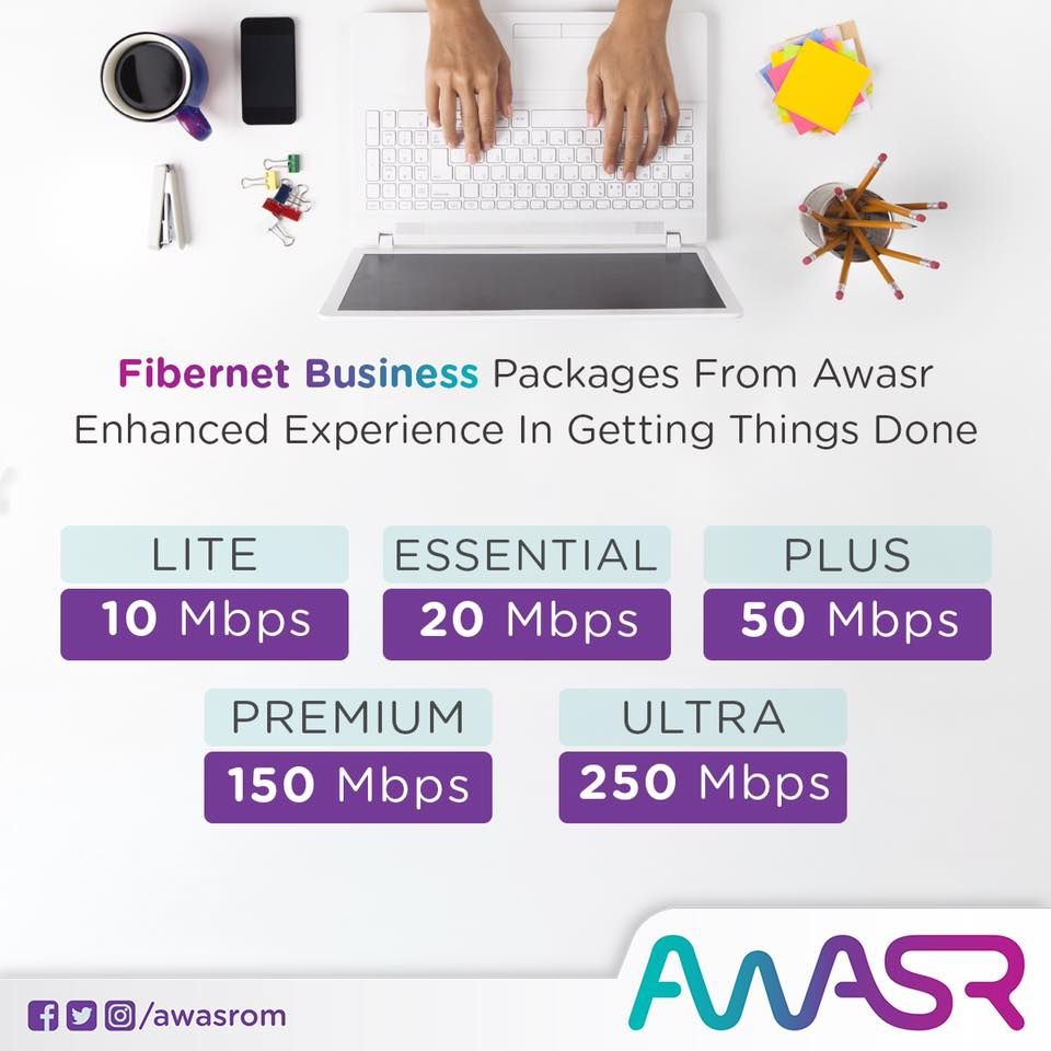 Join an optic fiber service provider in Oman